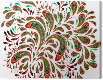 Canvas Print Floral patterned element 2