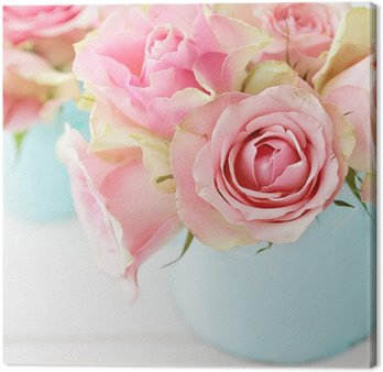 Canvas Print flowers in a vase
