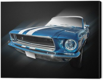 Canvas Print Ford Mustang