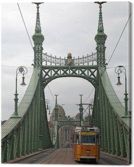 Canvas Print Freiheitsbrücke