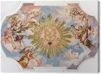 Canvas Print fresco angels