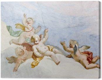 Canvas Print Fresco Wieskirche