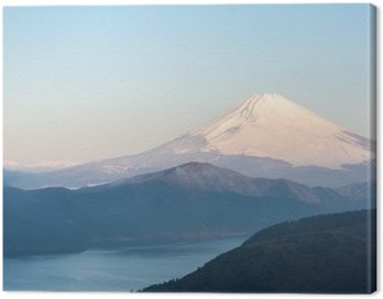 Fuji Mountain Lake Hakone Sunrise