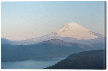 Fuji Mountain Lake Hakone Sunrise
