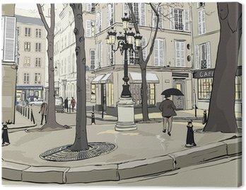 Furstemberg square in paris