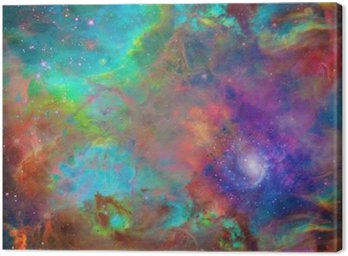 Canvas Print Galactic Space