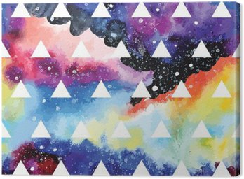 Galaxy seamless pattern.