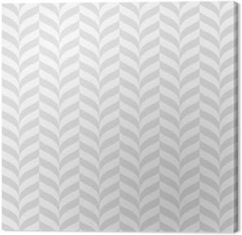 Geometric pattern, vector seamless background Canvas Print