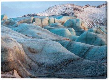 Glacier Vatnajokull, Iceland, part of Vatnajokull National Park. Panorama