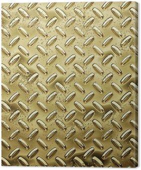 gold tread or diamond plate