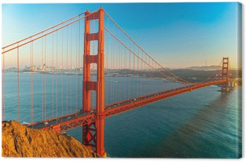 Canvas Print Golden Gate, San Francisco, California, USA.