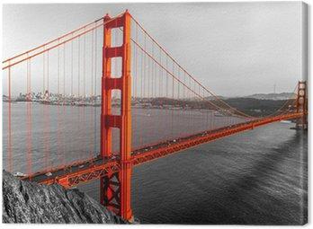 Golden Gate, San Francisco, California, USA. Canvas Print