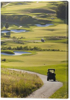 Canvas Print Golf Course