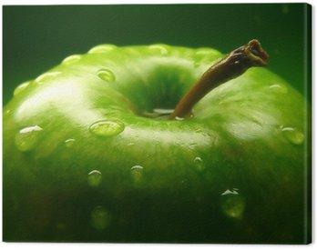 Canvas Print green apple