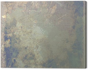 Canvas Print Grunge colorful background. With different color patterns: yellow (beige); brown; blue; gray