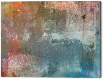 Canvas Print Grunge colorful background