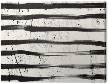 Canvas Print Grunge stripe background.