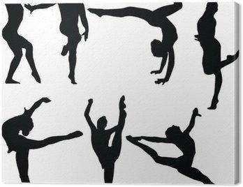 gymnastics collection 2 - vector
