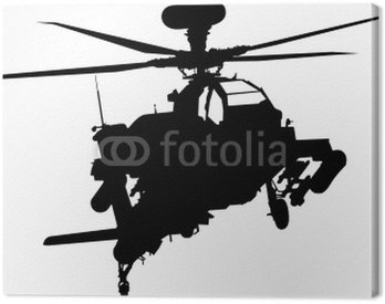 Canvas Print helicopter