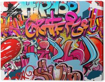 Hip hop graffiti urban art background