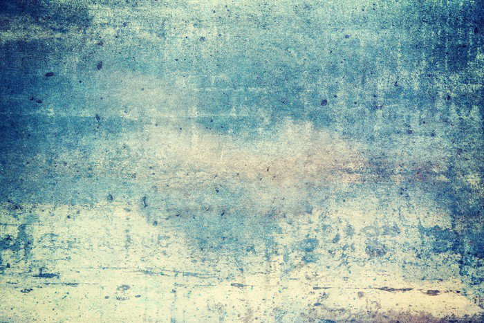 Canvas Print Horizontally oriented blue colored grunge background - Graphic Resources