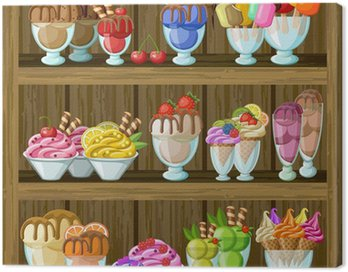 Ice cream shop.
