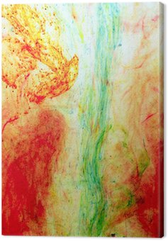 ink in the water Canvas Print