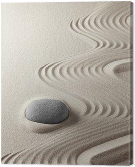 Canvas Print japanese zen garden