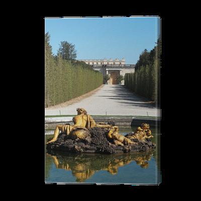 Jardin du ch teau de versailles canvas print pixers for Jardin chateau de versailles