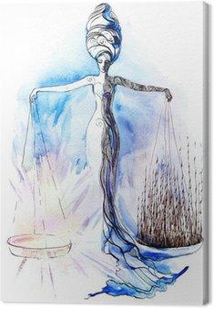 Canvas Print justice