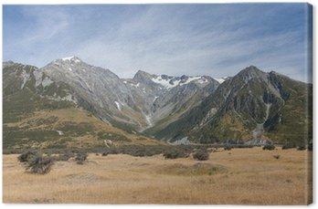 Canvas Print Kraina Hobbita - Pola Pelenoru