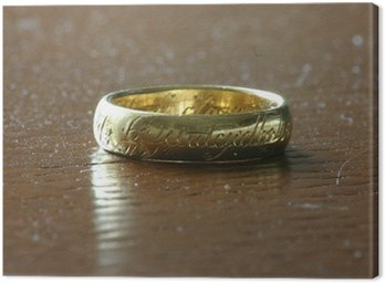 L'unico anello, The lord of the Ring, Tolkien