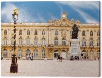 Canvas Print La place Stanislas à Nancy en Lorraine, France
