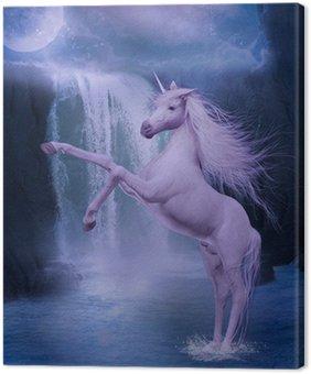 Canvas Print last unicorn