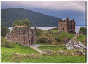 Le château du Loch Ness en Ecosse Canvas Print