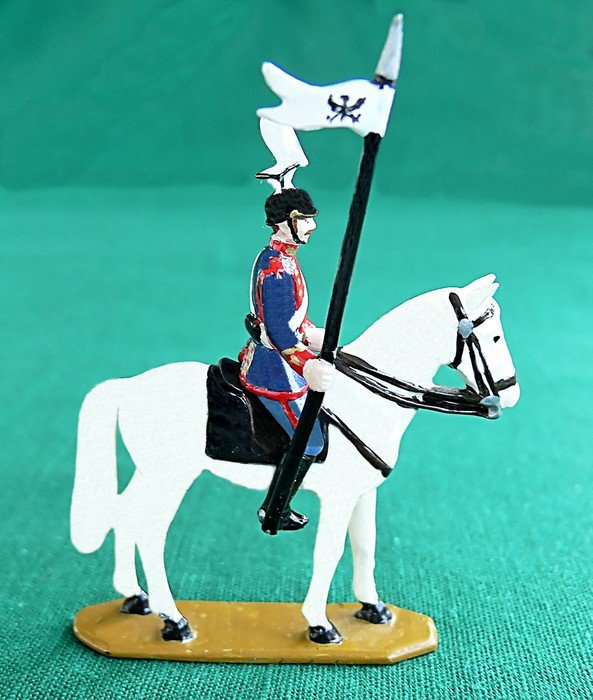 led toy horse and rider 30640