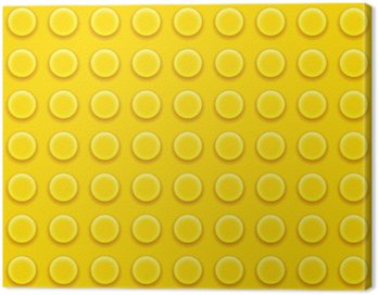 Canvas Print Lego blocks pattern