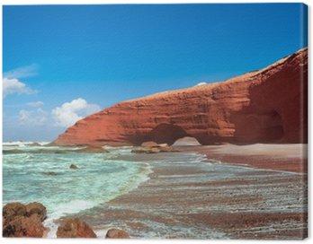 Canvas Print Legzira beach, Sidi Ifni, Souss-Massa-Draa, Morocco