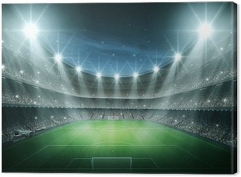Canvas Print Light of stadium