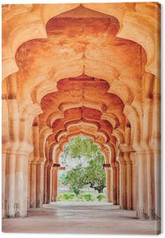 Lotus Mahal Canvas Print
