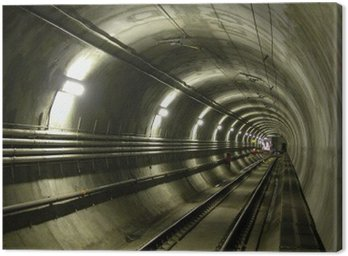 Canvas Print lrt tunnel
