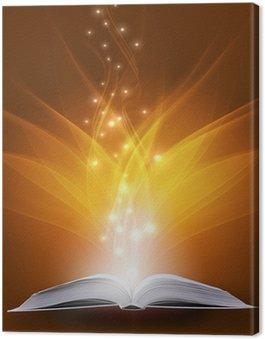 Canvas Print magic book