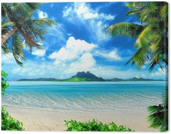 Canvas Print magical coast