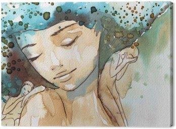 małe tęsknoty Canvas Print