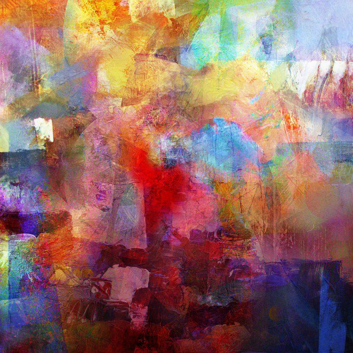 Canvas Print malerei texturen - Hobbies and Leisure