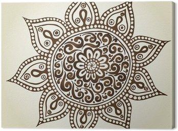 Mandala. Round Ornament Pattern. Ornamental Flowers.