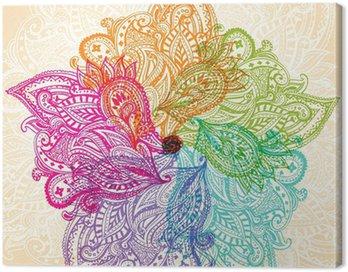 Canvas Print Mandala symbol