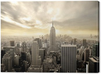Canvas Print manhattan