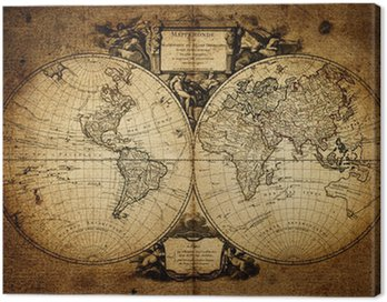 map of world 1752