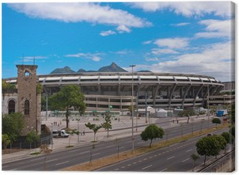 Canvas Print Maracana Stadium in Rio de Janeiro, Brazil